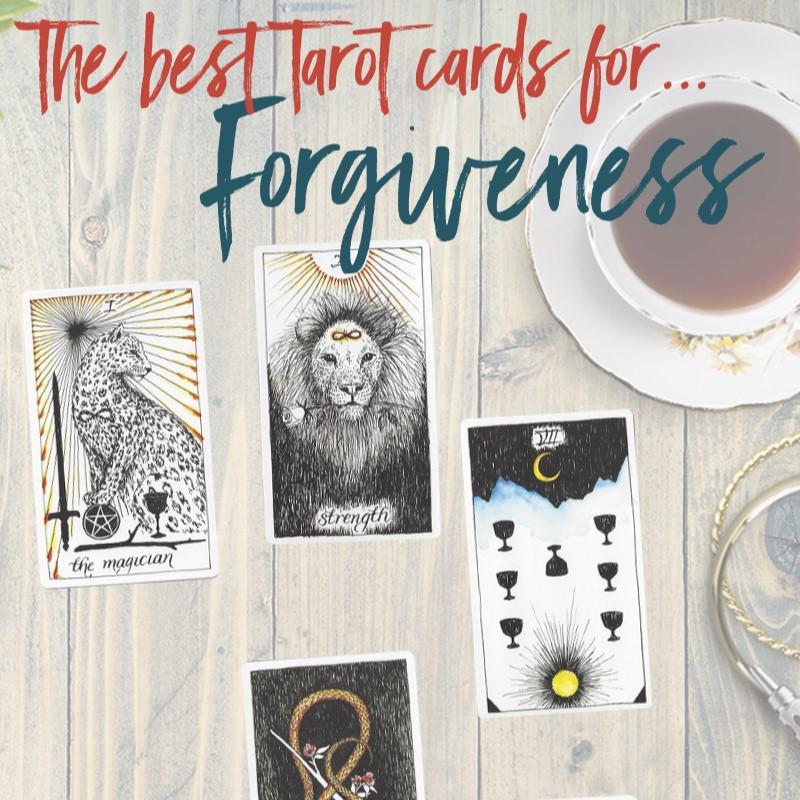 Learn the Six Best Tarot Cards for Forgiveness, from Tarot Card Mastery.