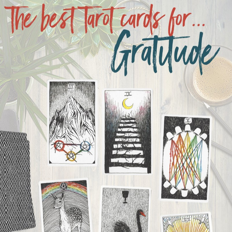 Learn the Six Best Tarot Cards for Gratitude, from Tarot Card Mastery.