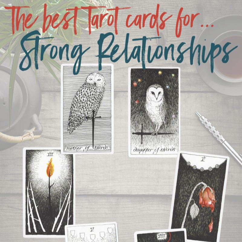 Learn the Six Best Tarot Cards for Stronger Relationships, from Tarot Card Mastery.