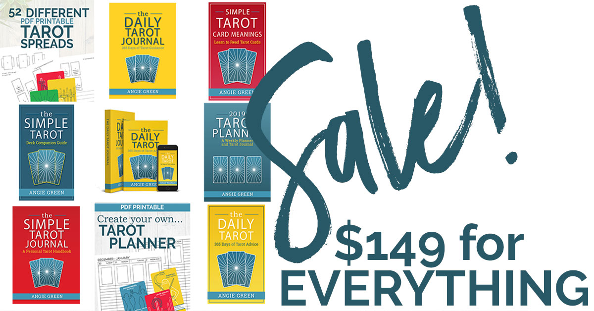 January 2019 Sale at The Simple Tarot